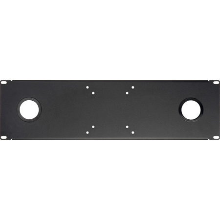 Delvcam ULCD-2 Universal LCD Rackmount Black With 2 5/8 Grommets