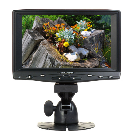 Delvcam DELV-HD7 HDMI / VGA / Composite 16x9  Camera Top 7-Inch IPS LCD Monitor
