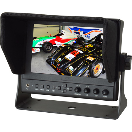 Delvcam DELV-WFORM-7 7 Inch Camera-top SDI Monitor with Video Waveform